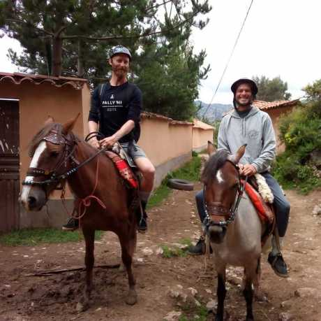 hourse sacred valley
